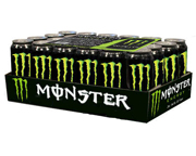 MONSTER ENERGY DRINK BEBIDA ENERGIZANTE 24 UNID PACK